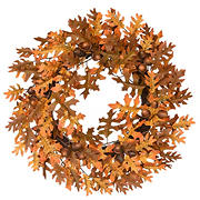 "National Tree 24"" Harvest Oak Leaves and Acorns Wreath"