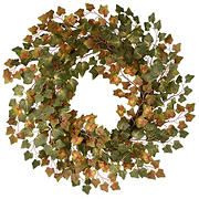 "National Tree 24"" Harvest Green Ivy Wreath"