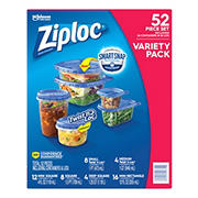 Ziploc Smart Snap Food Storage Containers, 52 pc.
