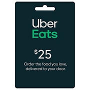 $25 UberEats Gift Card