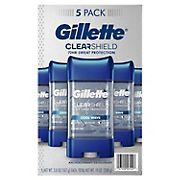 Gillette Cool Wave Antiperspirant Deodorant for Men, 5 ct.
