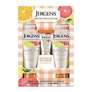 Jergens Body Butter Hand and Body Lotion, Sweet Citrus, 2 pk./7 fl. oz. With Bonus 1 fl. oz.