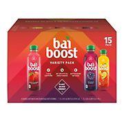 Bai Boost Variety Pack, 15 pk/18 fl. oz.