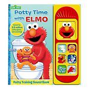 Sesame Street - Potty Time with Elmo - Potty Training Sound Book