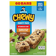 Quaker Chewy Granola Bars Camp Chewy Variety Pack, 60 ct.