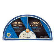 Castello Blue Cheese Half Moon, 12.3 oz.