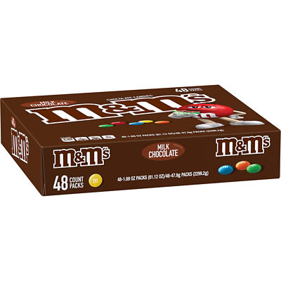 Milk Chocolate M&M's, 48 pk.