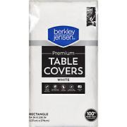 Berkley Jensen White Tablecover, 6 ct.