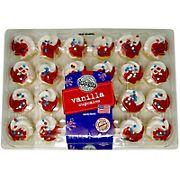 Two-Bite Vanilla Patriotic Cupcakes, 24 ct.