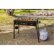 Country Smokers The Highland 4-Burner Portable Gas Griddle with Flat Top
