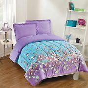 Gizmo Kids Butterfly Dreams Lavender Comforter Set