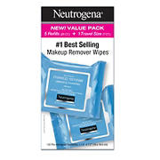Neutrogena Cleansing Makeup Remover Facial Wipes Waterproof Mascara Remover Refill Pack, 125 ct.