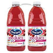 Ocean Spray 100% Juice Cranberry Watermelon, 2 pk./96 oz.
