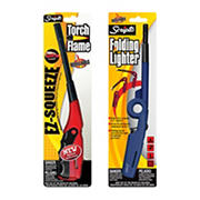 Scripto Folding Utlity Lighter and EZ Squeeze Torch