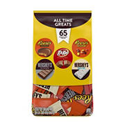 Hersheys All Time Greats, Snack Size Variety Bag, 60 ct.