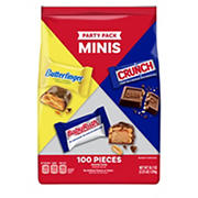Butterfinger & Co. Assorted Party Pack Mini, 100 pc.
