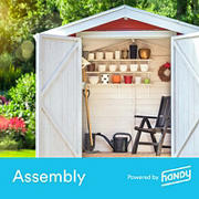 Handy Medium Shed Assembly, $300-$999.99