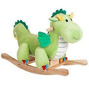 Toy Time Plush Rocking Dragon Ride-On