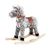 Toy Time Plush Rocking Horse Ride-On