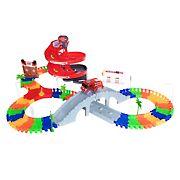 Toy Time 105-Pc. Flexible Tracks Raceway Set