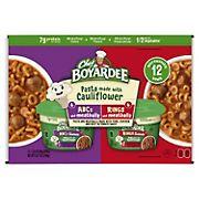Chef Boyardee Microwave Veggie Enhanced Pasta Variety Pack, 12 ct.