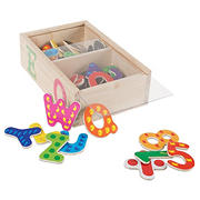 Toy Time 52-Pc. Letter and Number Magnet Set