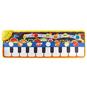 Toy Time Musical Piano Step Playmat