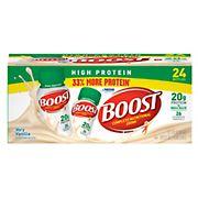 Boost High-Protein Drink, Vanilla, 24 pk./8 oz.