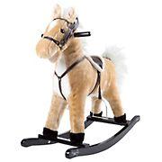 Toy Time Rocking Horse Plush Animal Ride-On