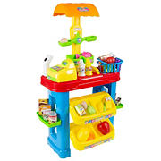 Toy Time Kids Grocery Store Selling Stand