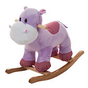 Toy Time Henrietta the Rocking Hippo Ride-On