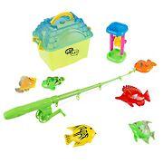 Toy Time 9-Pc. Kids Toy Fishing Set