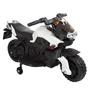Toy Time 2-Wheel Motorcycle with Training Wheels Ride-On