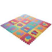 Toy Time 16-Pc. Interlocking Foam Animal Tiles