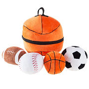 Toy Time Sports Bag and Ball Play Set