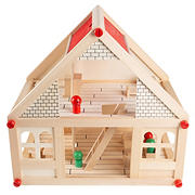 Toy Time Wooden Dollhouse
