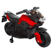 Toy Time Lil' Rider 2-Wheel Motorcycle with Training Wheels Ride-On