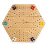 Toy Time 24-Pc. Wooden Marble Game Set