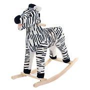 Toy Time Rocking Zebra Plush Animal