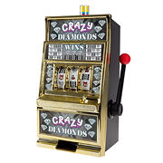 Toy Time Electronic Slot Machine Coin Bank