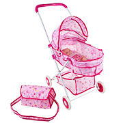 """Toy Time Deluxe Toy Pram for 18 """" Baby Dolls"""