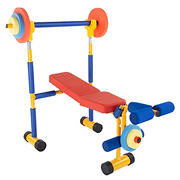 Toy Time Kids Play Workout Bench