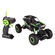 Toy Time 1:16 Scale Remote Control Monster Truck - Green/Black