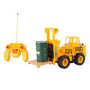 Toy Time 1:24 Scale Remote Control Toy Forklift