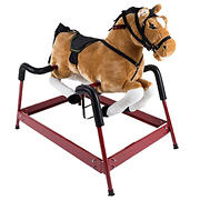 Toy Time Toy Time Plush Rocking Horse Ride-On