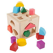 Toy Time Wooden Shape Sorter