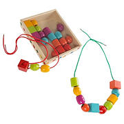 Toy Time Kids Bead and String Lacing Set