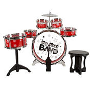 Toy Time 7-Pc. Toy Drum Set