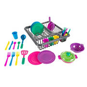Toy Time 27-Pc. Kids Play Dish Set