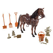 Toy Time Toy Horse and Accessory Set